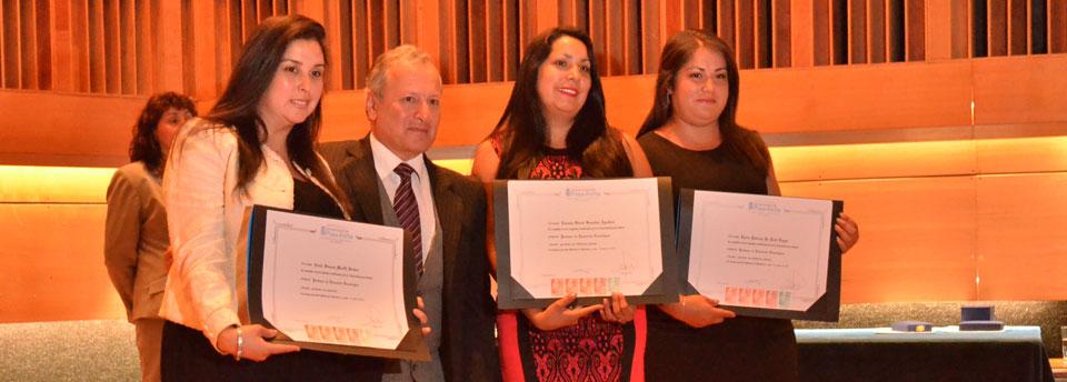 Egresados de la Facultad de Arte recibieron sus títulos profesionales