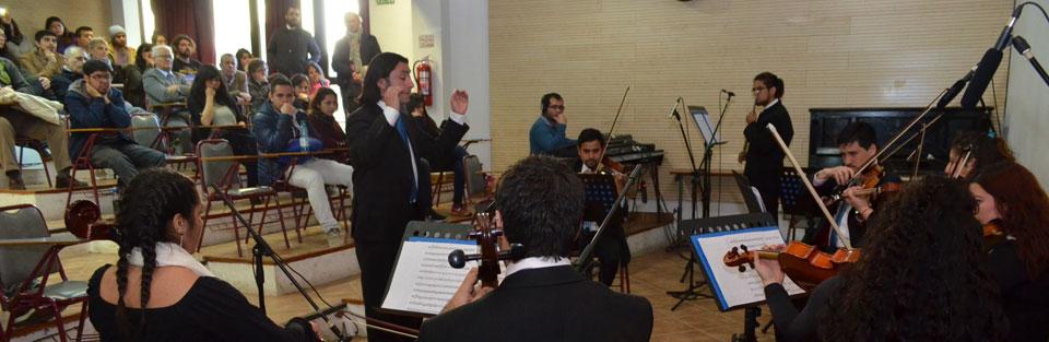 Orquesta de Cámara hace su estreno en Temporada de Conciertos UPLA