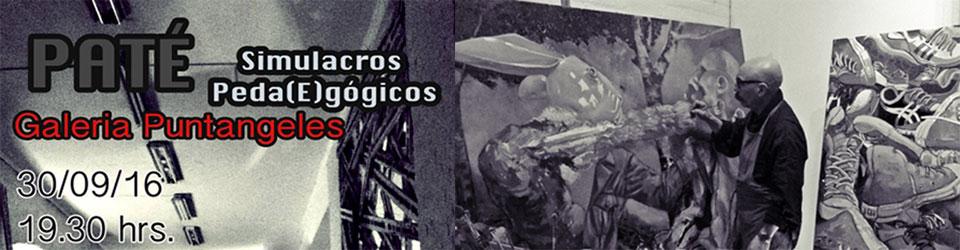 """Artista Mario """"Paté"""" Ibarra expuso muestra en Sala Puntángeles"""