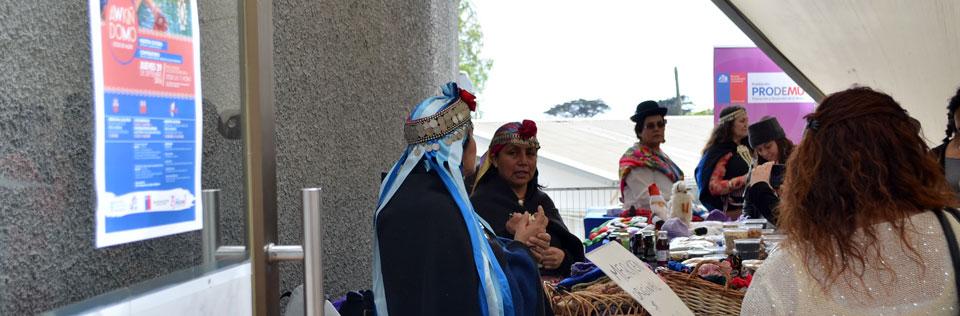 Muestra cultural y conversatorio del rol de la mujer indígena se realizó en la UPLA