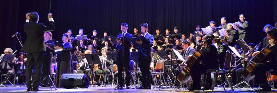 Con exitoso concierto se celebraron los 40 años del Coro de Cámara UPLA