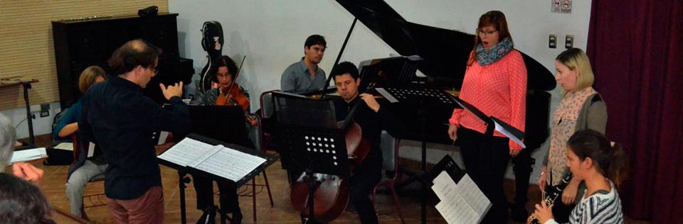 Ensamble Iberoamericano de Alemania realizó taller y concierto en la UPLA