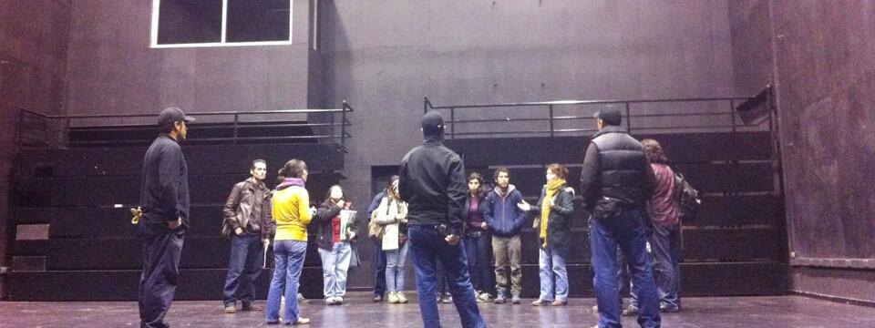 Delegación de la Universidad de Chile visitó la Facultad de Arte