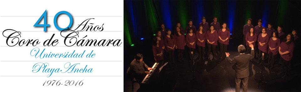 Coro de Cámara UPLA prepara celebración de sus 40 años de carrera artística