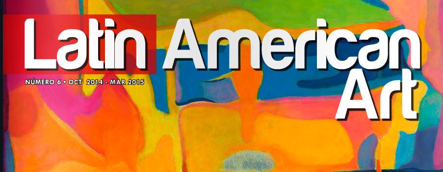 Revista especializada en artes plásticas latinoamericana publica obras de Edwin Rojas