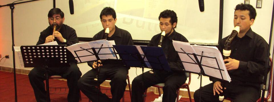Consort de Flautas UPLA presentó gran espectáculo en Temporada de Conciertos