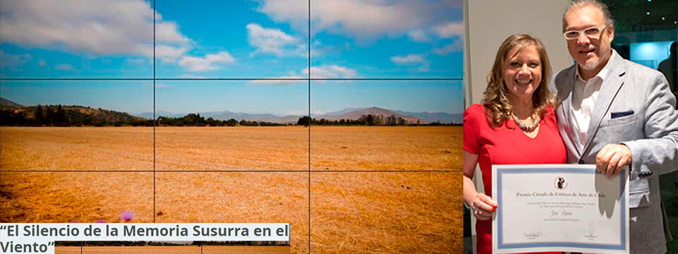 Exposición de José Basso fue premiada como la mejor de Chile año 2015