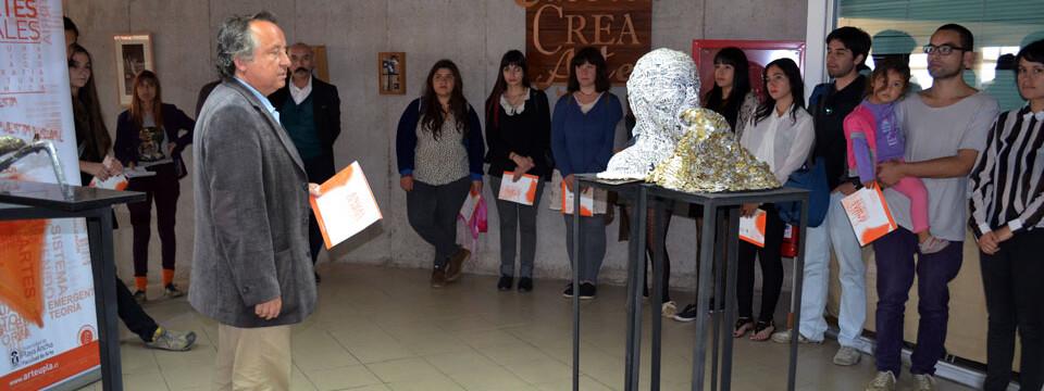 """Inauguran exposición """"Anual de Arte 2013"""" en Galería CreArte de la UPLA"""