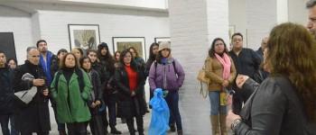 Sala Puntángeles inauguró exposición de artista Claudia Cataldo