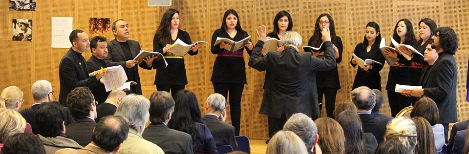 Conjunto de Madrigalistas UPLA inició ciclo de conciertos en Europa