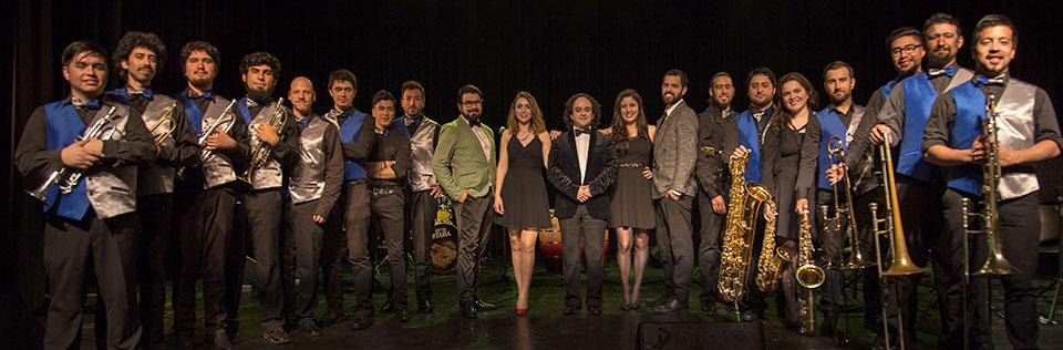 Gira de Big Band UPLA al sur de Chile en imágenes