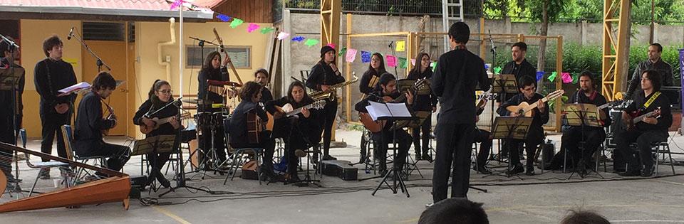 Ensamble Abya Yala participó en Encuentro Binacional de Orquestas Latinoamericanas