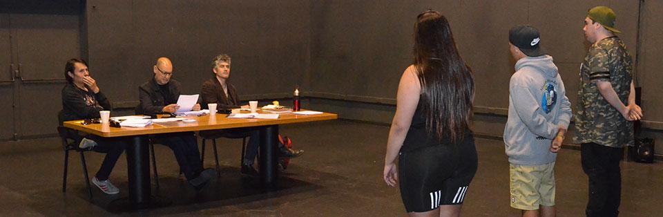 UPLA realizó proceso de selección de estudiantes para Teatro