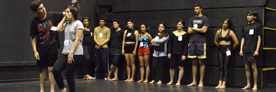 Teatro UPLA realizó con éxito proceso de selección de estudiantes 2016