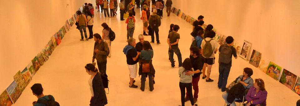 Arte In Situ: Más de 100 artistas pintaron Valparaíso desde el Parque Cultural