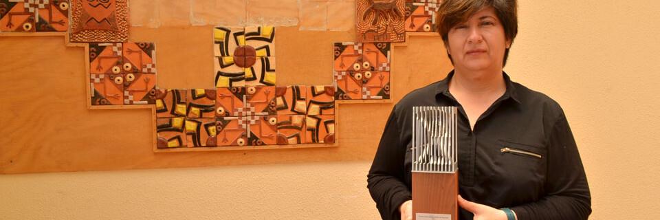 Guisela Munita fue reconocida por el Consejo Regional de Cultura