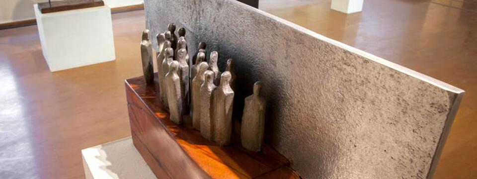 Destacados artistas exhibirán esculturas y dibujos en Galería Bahía Utópica