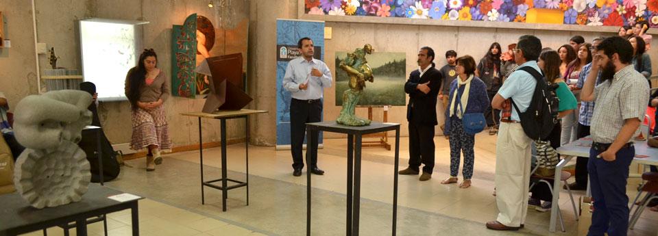 """Exposición de obras de """"Anual de Arte 2015"""" se inauguró en Galería CreaArte"""