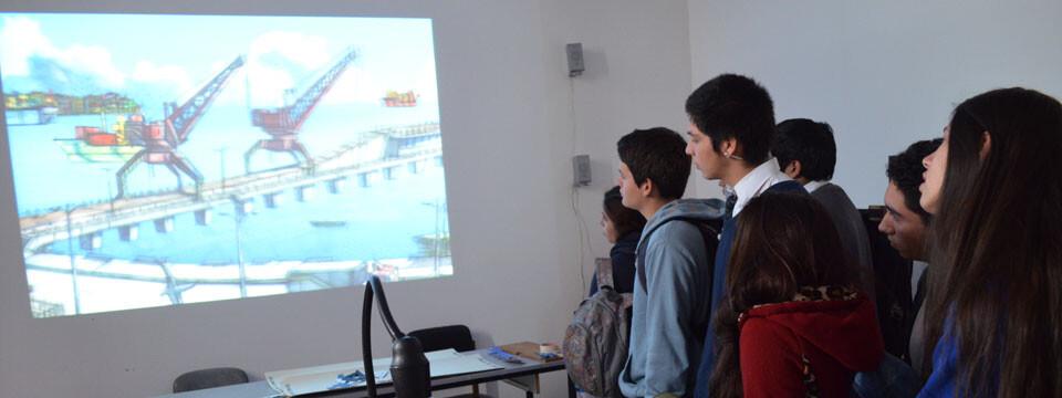 Facultad de Arte recibió a estudiantes en Día de Puertas Abiertas