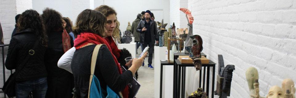 "Con gran convocatoria se inauguró ""X Bienal Regional de Cerámica Artística"" UPLA"