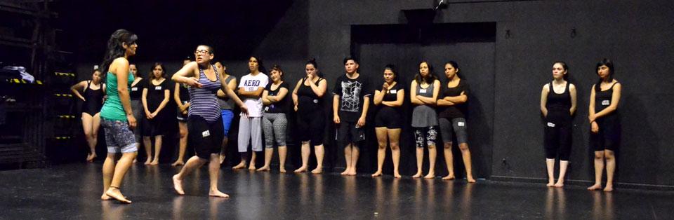 Más de 70 jóvenes rindieron prueba especial de Teatro en la UPLA