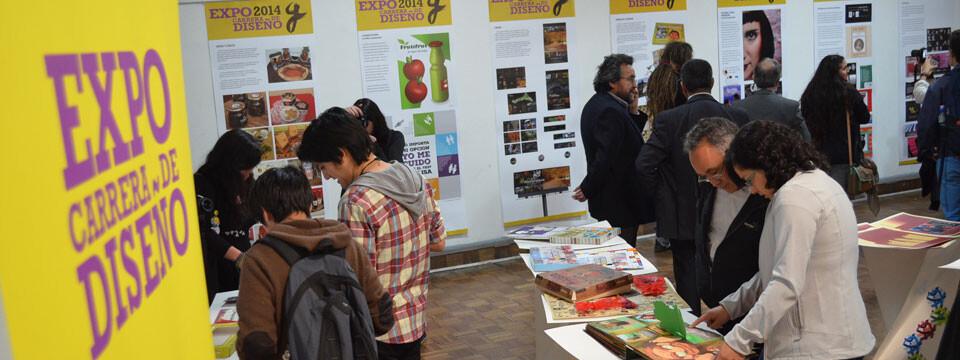 """Inauguran """"Expo 2014 carrera de Diseño"""" de la UPLA en el Chileno Norteamericano de Cultura"""