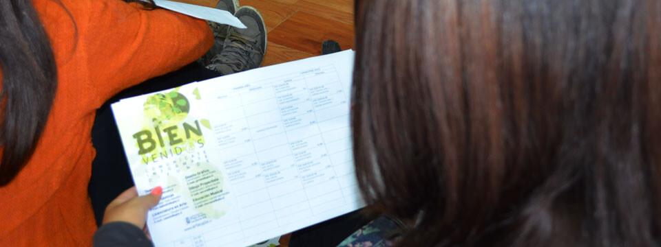 Múltiples actividades en Semana Mechona UPLA