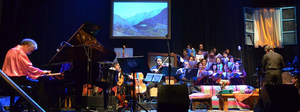 Coro de Cámara UPLA acompañó a Los Jaivas en concierto acústico