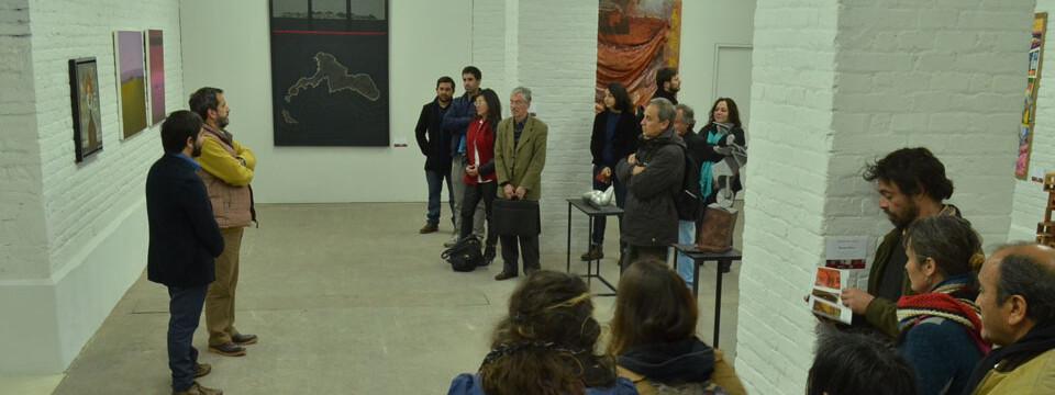 """Exposición """"Senderos Simultáneos"""" se inaugura en Sala Puntángeles"""