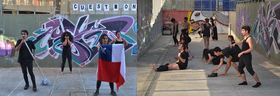 Estudiantes de Teatro dieron vida al X Encuentro Intercátedra de Movimiento