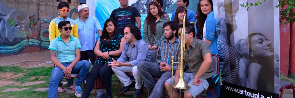 "Graban making off de la Big Band UPLA para ""Talento Chileno"""