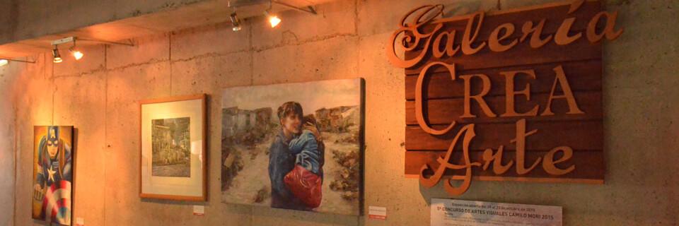 """Inauguran exposición del """"5° Concurso de Artes Visuales Camilo Mori» en la UPLA"""