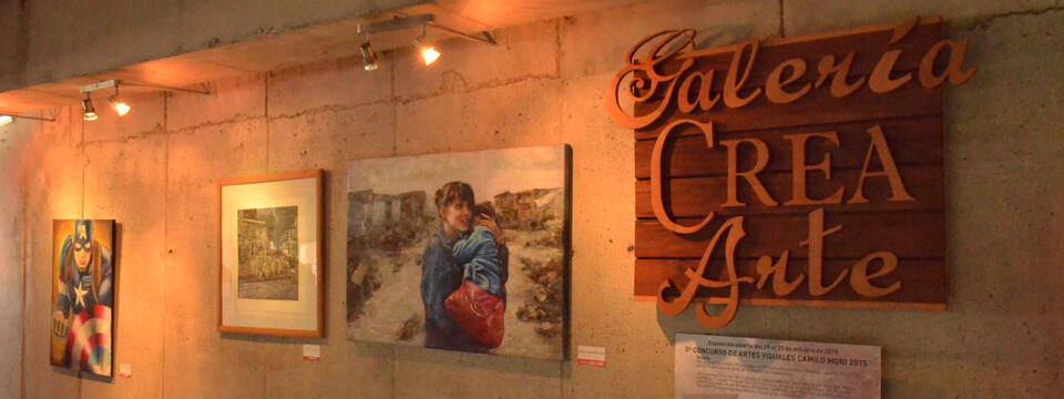 """Inauguran exposición del """"5° Concurso de Artes Visuales Camilo Mori"""" en la UPLA"""