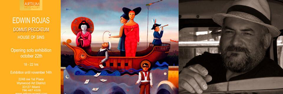 Pinturas de Edwin Rojas inaugurarán galería chilena en Miami