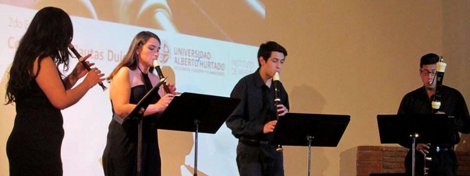 Estudiantes de Música representaron a la UPLA en Encuentro de Flautas