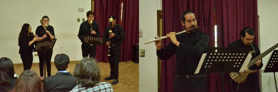 Agrupaciones de flautas se presentaron en la Facultad de Arte