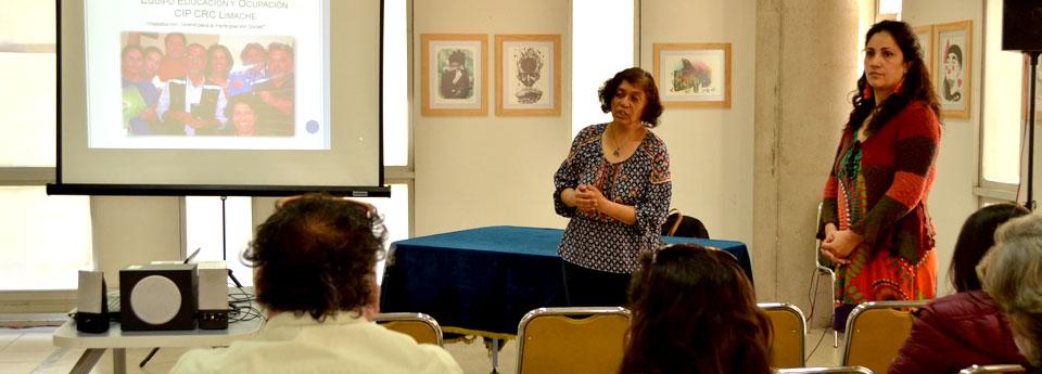 Profesionales del SENAME socializan experiencias educativas con estudiantes UPLA