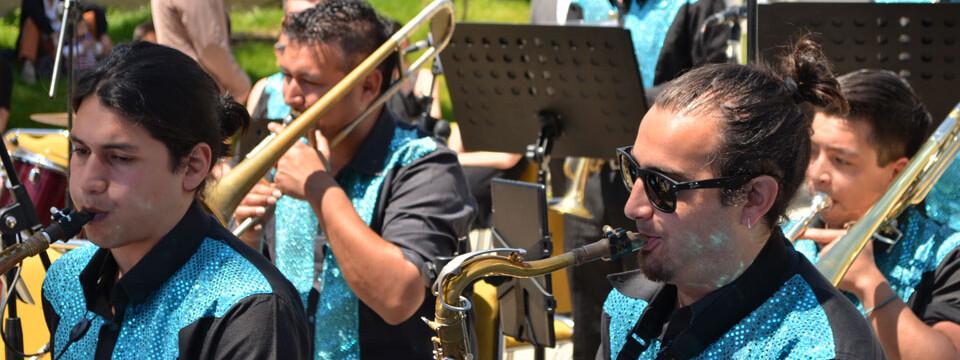 """""""Encuentro de Big Band"""" en la Universidad de Playa Ancha"""