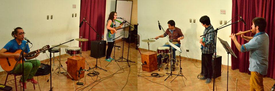 Agrupaciones estudiantiles se presentaron en Temporada de Conciertos UPLA