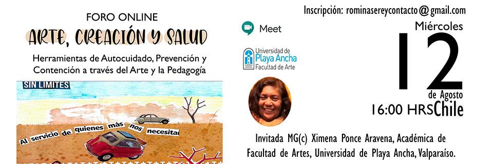 Herramientas artísticas y pedagógicas para apoyar salud mental incluirá foro online en la UPLA