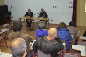 Patricio Sanhueza presenta plan de trabajo para el periodo 2014-2018