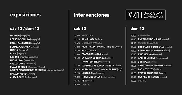 Programa ANTI Festival