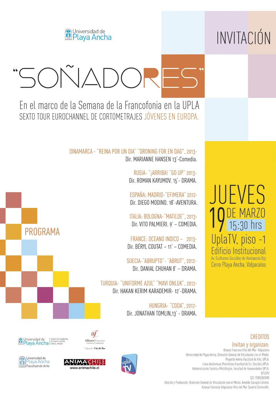Programa Semana de la Francofonía 2015