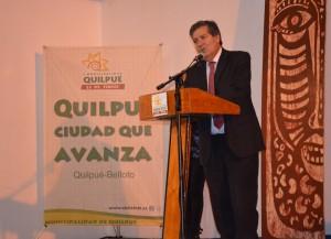 Patricio Sanhueza, rector UPLA