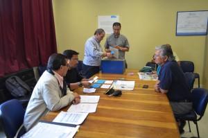 Recuento de votos elección directores