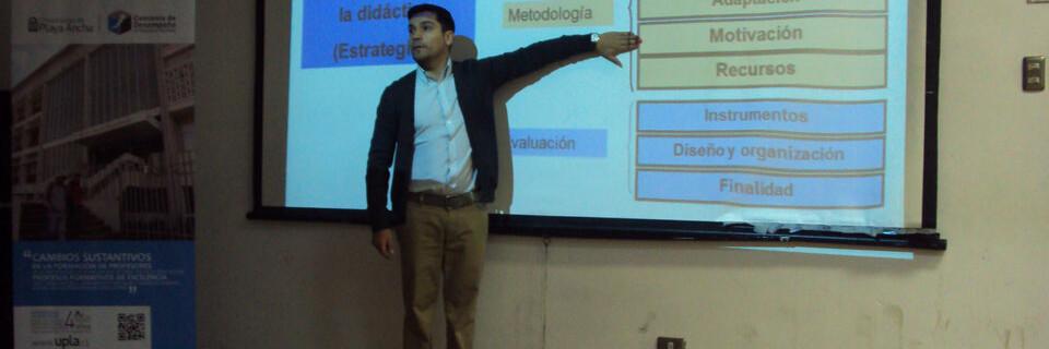 Seminario sobre el uso de herramientas TIC se realizó en la Facultad de Arte