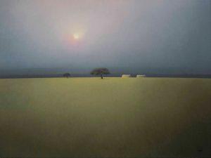 """Obra """"Sol en la Niebla"""""""