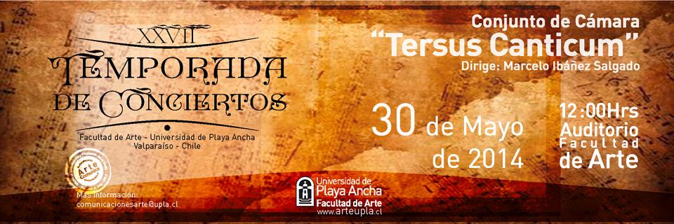 """Conjunto de Cámara """"Tersus Canticum"""" debuta en Temporada de Conciertos UPLA"""