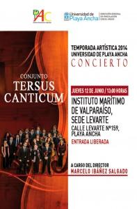 Afiche Tersus Canticum