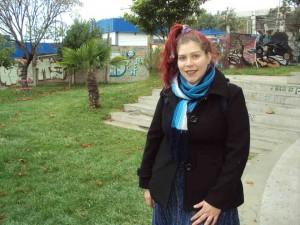 Trinidad Ortega_egresada Licenciatura en Artes UPLA